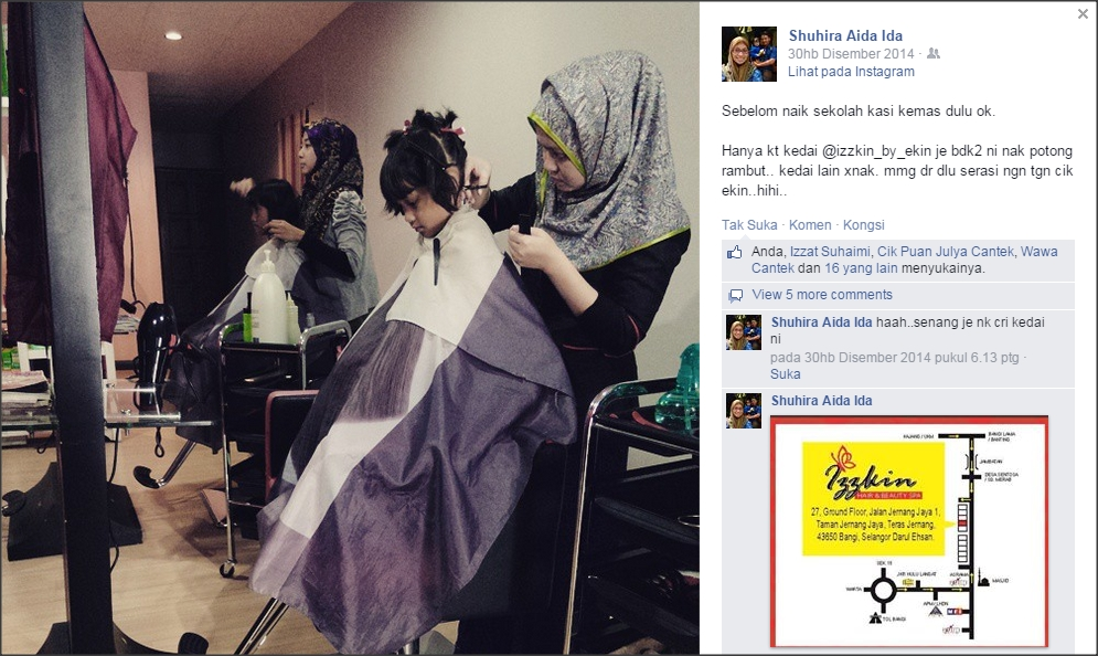 Izzkin Hair & Beauty Spa ©