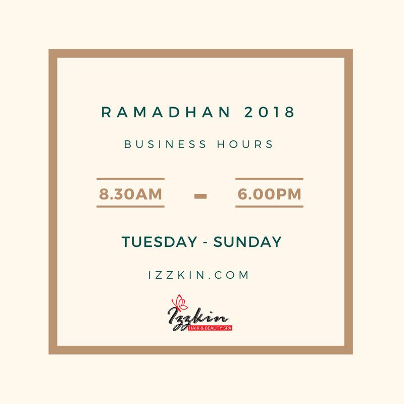 Waktu Operasi Bulan Ramadhan 2018